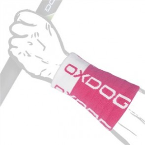 OXDOG TOUR LONG WRISTBAND PK/WT